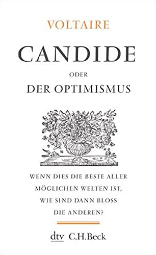 9783423342520: Candide Oder Der Optimismus (German Edition)