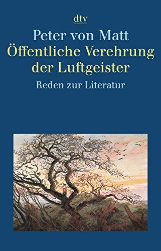 9783423342834: Öffentliche Verehrung der Luftgeister: Reden zur Literatur