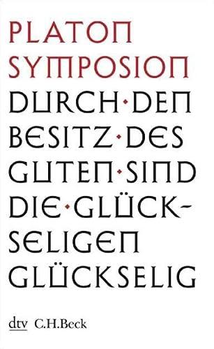 9783423345217: Symposion Das Gastmahl