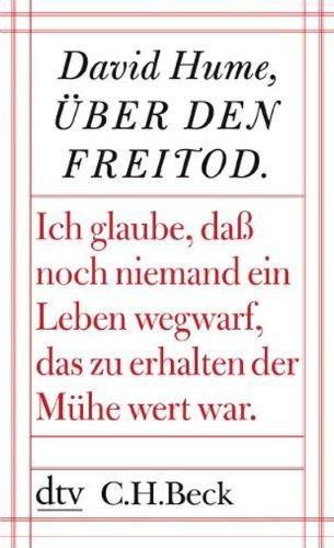 9783423345675: Über den Freitod und andere Essays