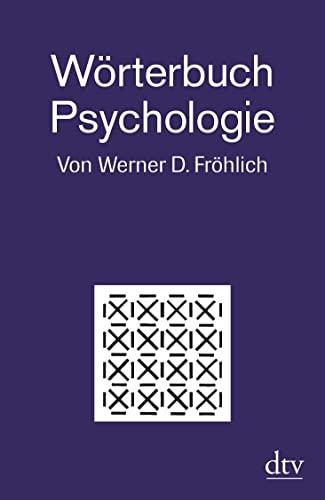 9783423346252: Wörterbuch Psychologie