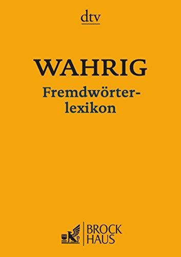 9783423347419: WAHRIG Fremdwörterlexikon