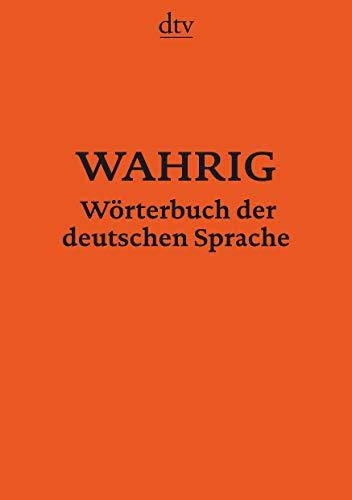 9783423347433: WAHRIG Wörterbuch der deutschen Sprache