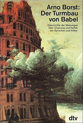 9783423590280: Der Turmbau Von Babel