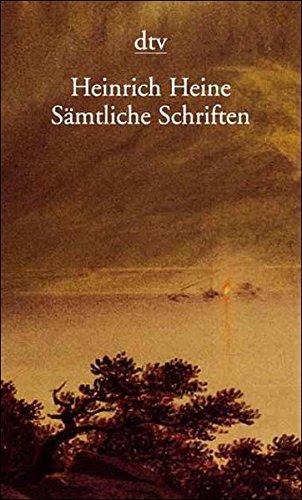 9783423590358: Sämtliche Schriften, 6 Bde. in 7 Tln.