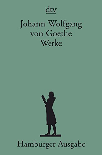9783423590389: Goethe; Books to Celebrate His 250th Birthday: Werke; Hamburger Werkausgabe 14 BA>Nde (German Edition)