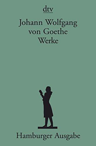 9783423590389: Goethe; Books to Celebrate His 250th Birthday: Werke; Hamburger Werkausgabe 14 BA>Nde (German Edition)