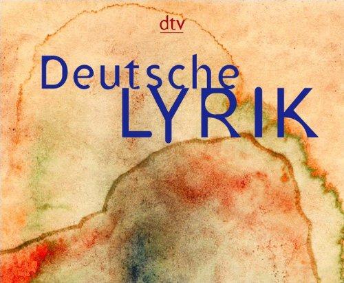 9783423590525: Deutsche Lyrik von den Anfängen bis zur Gegenwart