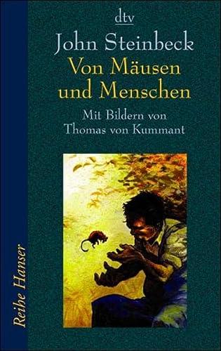 9783423620727: Von Mausen Und Menschen (German Edition)