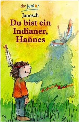 9783423702928: Du bist ein Indianer, Hannes. ( Ab 8 J.).