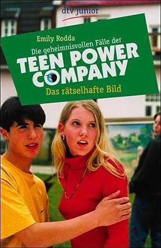 9783423706193: Das rätselhafte Bild. Die geheimnisvollen Fälle der Teen- Power- Company.