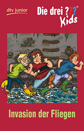 9783423708739: Die Drei ? Kids - Invasion Der Fliegen (German Edition)