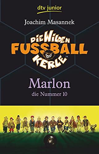 9783423709941: Die Wilden Fußballkerle 10: Marlon, die Nummer 10