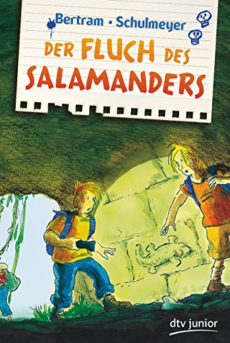 9783423760584: Der Fluch des Salamanders