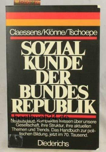 Sozialkunde der Bundesrepublik Deutschland (German Edition): Claessens, Dieter