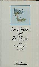 9783424008074: Liang Shanbo und Zhu Yingtai. Oder Romeo und Julia in China