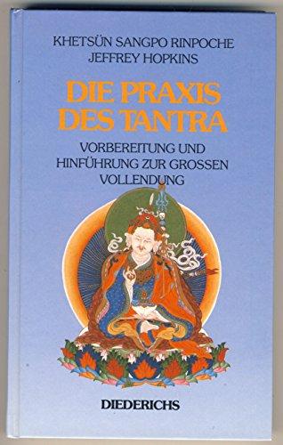 9783424009361: Die Praxis des Tantra. Vorbereitung und Hinführung zur Grossen Vollendung