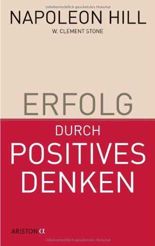 9783424200423: Erfolg durch positives Denken