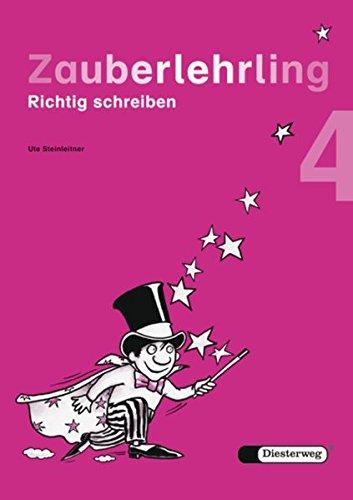9783425012292: Zauberlehrling 4. Allgemeine Ausgabe: Richtig schreiben