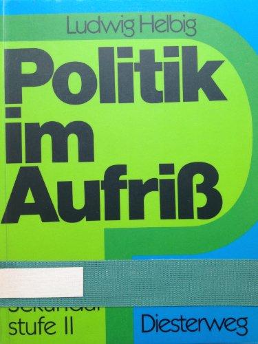 9783425016542: Politik im Aufriss. Sekundarstufe II