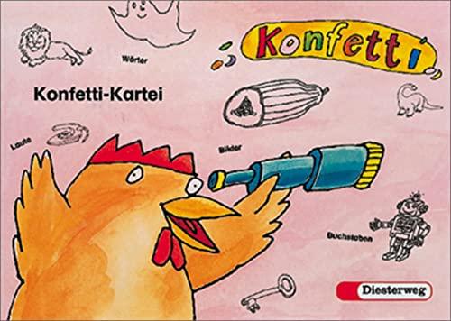 9783425020587: Konfetti - Ausgabe 1998: Kartei