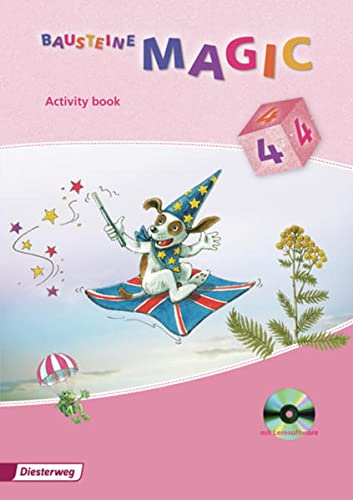 9783425021973: Bausteine Magic 4. Activity book mit CD-ROM: Ausgabe 2009