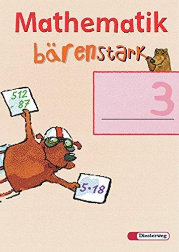 9783425023137: Mathematik b�renstark Trainingshefte. Arbeitsheft 3.