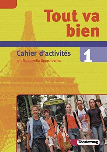 9783425036137: Tout va bien. Unterrichtswerk für den Französischunterricht, 2. Fremdsprache: Tout va bien 1. Arbeitsheft. 7. Schuljahr. Inkl. CD-ROM: Lehrwerk für den Französischunterricht