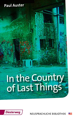 9783425040844: In the Country of Last Things: Textbook