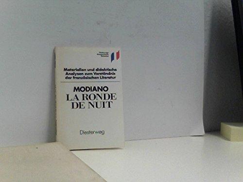 La Ronde de nuit. Materialien und didaktische: Modiano, Patrick: