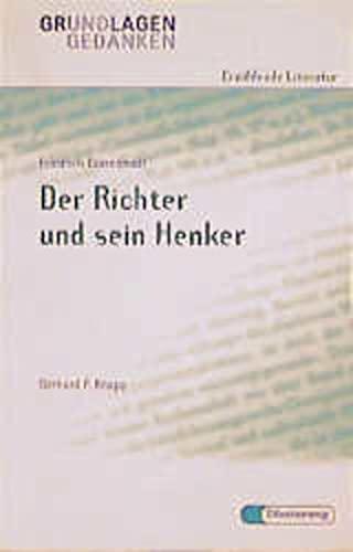 9783425060378: Der Richter und sein Henker. Grundlagen und Gedanken