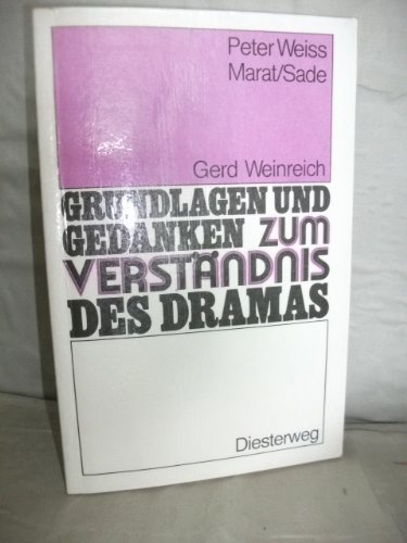 9783425060743: Marat/Sade Weiss ? (German Edition)