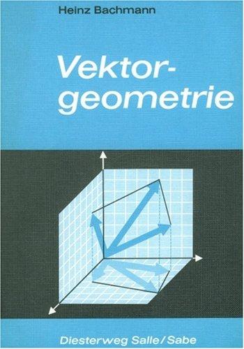 9783425071183: Lineare Algebra und analytische Vektorgeometrie
