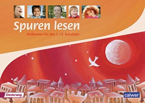9783425080345: Spuren Lesen 1/2. Bildkarten. Grundschule