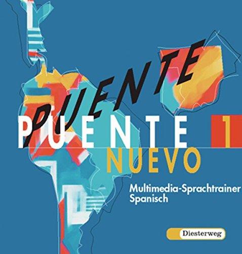 9783425086866: Puente Nuevo 1. Multimedia-Sprachtrainer Spanisch. CD-ROM für Windows 95/98/XP: Gymnasium, Gesamtschule