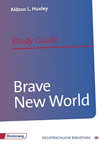9783425095578: Brave New World: Study Guide