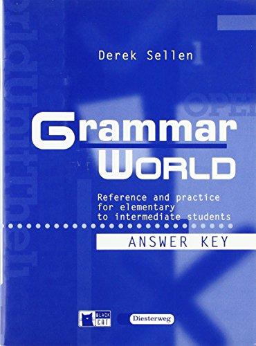 9783425096506: Grammar World. Lösungsheft