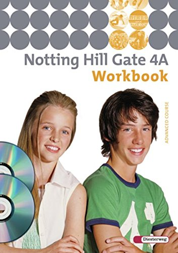 9783425106441: Notting Hill Gate 4 A. Workbook mit CD-ROM Multimedia-Sprachtrainer