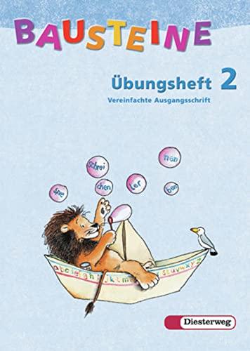 9783425112060: Bausteine Übungsheft 2. Vereinfachte Ausgangsschrift. Allgemeine Ausgabe. Neubearbeitung