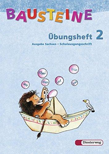 9783425112350: Bausteine Übungsheft 2. Schulausgangsschrift. Sachsen