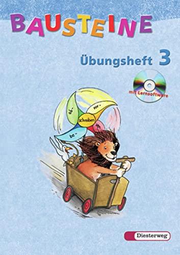9783425113067: Bausteine Übungsheft 3. Mit CD-ROM. Allgemeine Ausgabe. Neubearbeitung