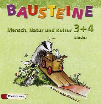 9783425119786: BAUSTEINE Mensch, Natur und Kultur: Hör-CD 3 / 4 mit Liedern für die Klassen 3 und 4