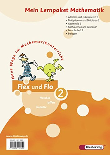 9783425132051: Flex und Flo 2. Mein Lernpaket Mathematik (Verbrauchsmaterial). Alle Bundesländer außer Bayern