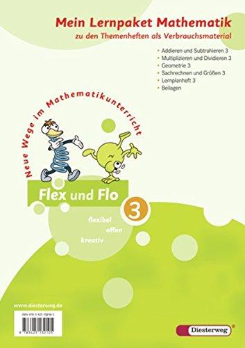 9783425132105: Flex und Flo 3. Mein Lernpaket Mathematik (Verbrauchsmaterial). Alle Bundesländer außer Bayern