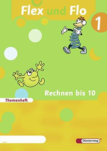 9783425132112: Flex und Flo 1. Themenheft Rechnen bis 10: Rechnen bis 10