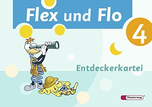 9783425132891: Flex und Flo 4. Entdeckerkartei. Ausgabe 2007