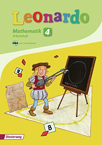 9783425134246: Leonardo 4. Arbeitsheft mit CD-ROM (2009): Ausgabe 2009