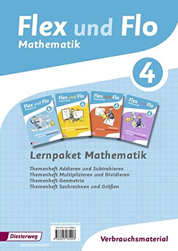 9783425135403: Flex und Flo 4 - Lernpaket Mathematik Ausgabe 2014