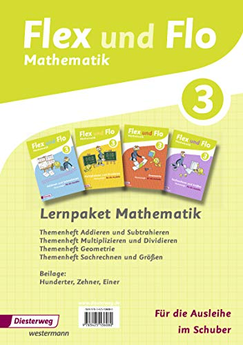 9783425136080: Flex und Flo 3. Paket 3: Themenhefte für die Ausleihe. Rheinland-Pfalz: Ausgabe 2014