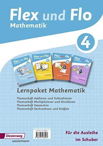 9783425136097: Flex und Flo 4. Paket: Themenhefte für die Ausleihe. Rheinland-Pfalz: Ausgabe 2014